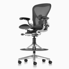 Herman Miller Chairs Seattle Leather Wingback Aeron Stool