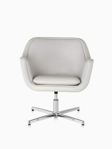 office club chairs blue patterned chair with ottoman lounge seating herman miller white bumper