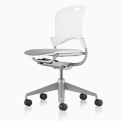White Rolling Chair Dining Covers Homesense Caper Office Chairs Herman Miller Multipurpose With A Gray Seat Viewed From 45 Degree Angle