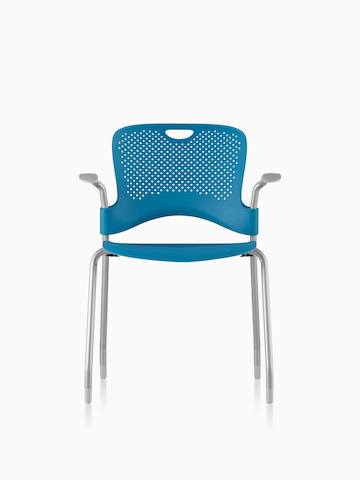 herman miller stacking chairs baby bamboo chair singapore blue caper