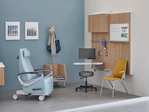 office recliner chair where to make cushions medical clinic furniture - herman miller