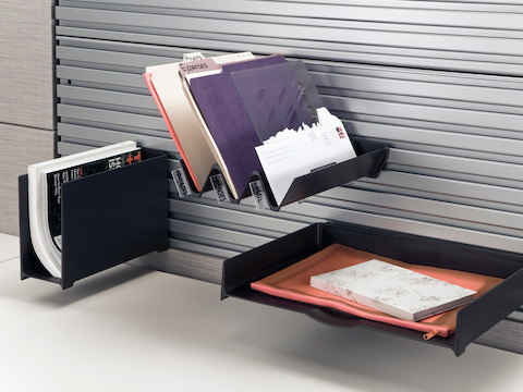 Diagonal Tray  Desk Accessories and Organizers  Herman