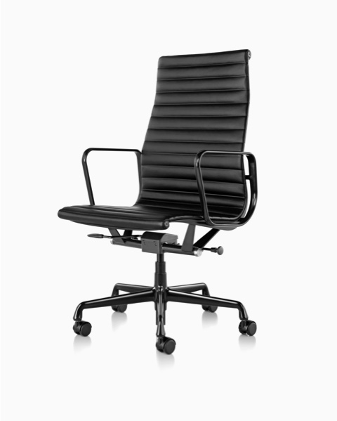 eames aluminum chair lawn chairs folding group office herman miller