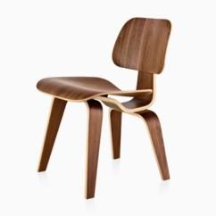 Antique Folding Rocking Chair Floor Lounge Eames Molded Plywood - Side Herman Miller