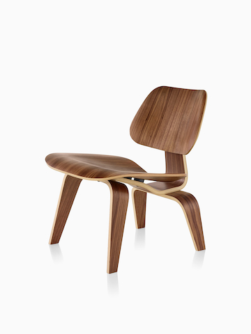 eames molded side chair high backed office chairs uk plywood - herman miller