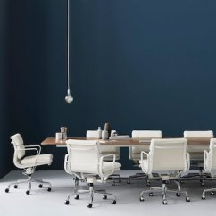 Eames Aluminum Group Management Chair Quik Shade Soft Pad - Office Chairs Herman Miller