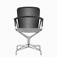 Office Side Chairs Nils Chair Cover Pattern Guest Herman Miller A Black Keyn Meeting With Gray Upholstered Seat