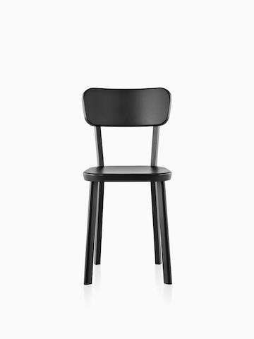 metal outdoor chair queen anne recliner seating herman miller black magis deja vu