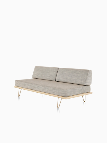 herman miller tuxedo classic sofa contemporary leather sectional sofas for small es swoop - lounge seating