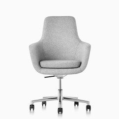 Chair With Light Large Folding Aeron Office Chairs Herman Miller Gray Saiba