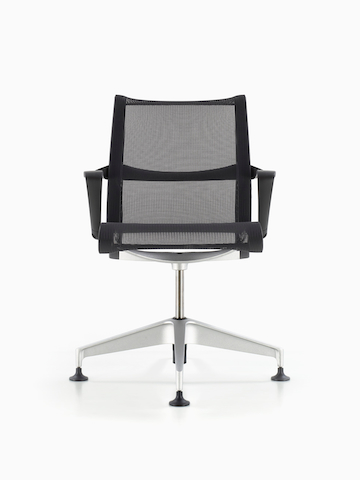 office side chair revolving with price guest chairs herman miller a black setu