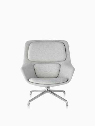 office chair ottoman types of bean bag chairs eames lounge and herman miller gray striad