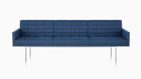 herman miller tuxedo sofa gus modern craigslist sofas lounge seating large gray corner sectional viewed from front