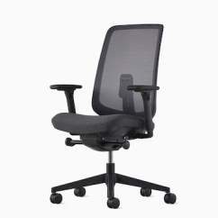 Fancy Office Chairs Victorian Velvet Chair Aeron Herman Miller A Black Verus With Gray Upholstered Seat Select To Go The