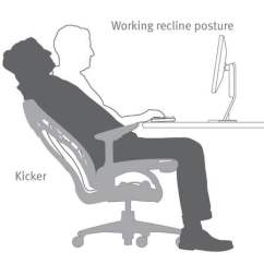 Posture Promoting Chair Herman Miller Office Parts Healthy Movement And Natural Alignment Research An Example Of How The Embody Supports Working Reclined Position