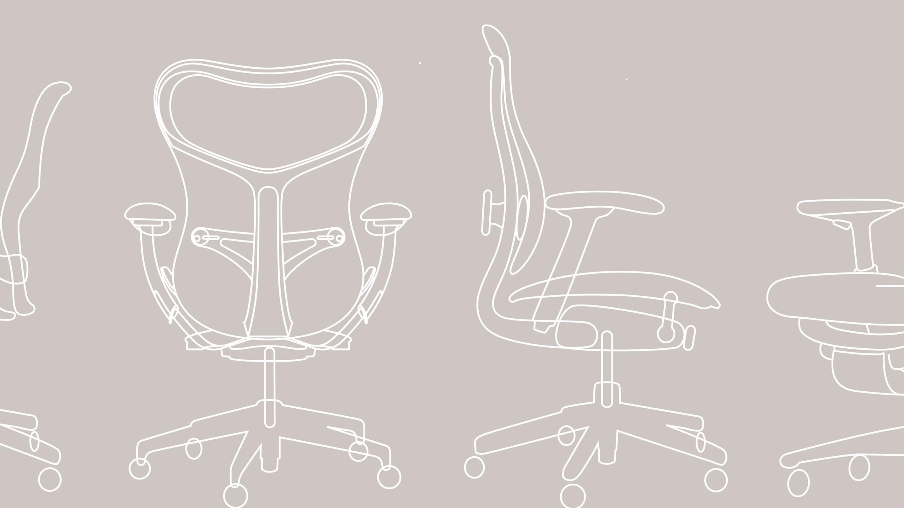 chair design research white wedding covers uk the attributes of thermal comfort herman miller a graphic rendering an aeron from various angles
