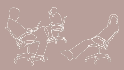ergonomic chair criteria plastic see through the kinematics of sitting research herman miller an illustration three common positons supported by aeron