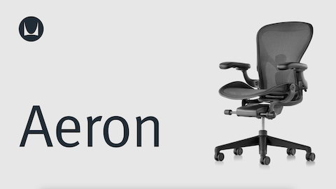 aeron chair manual table rentals and chairs adjustments herman miller a black viewed from an angle