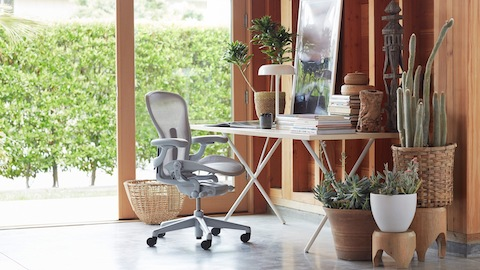 herman miller chairs seattle outdoor rocking chair pad where to buy an aeron and a nelson x leg table in home office select