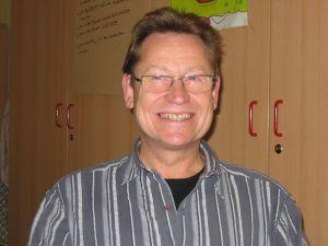 Hausmeister Manfred Sacher