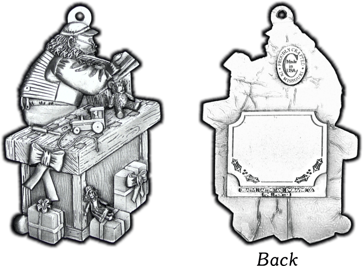 Pewter Christmas Ornaments|Pewter Ornaments|Christmas