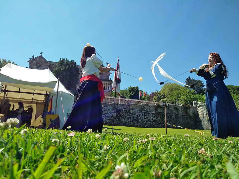 FOLKOMILLAS 2019 y Mercado Medieval en Comillas (Cantabria)