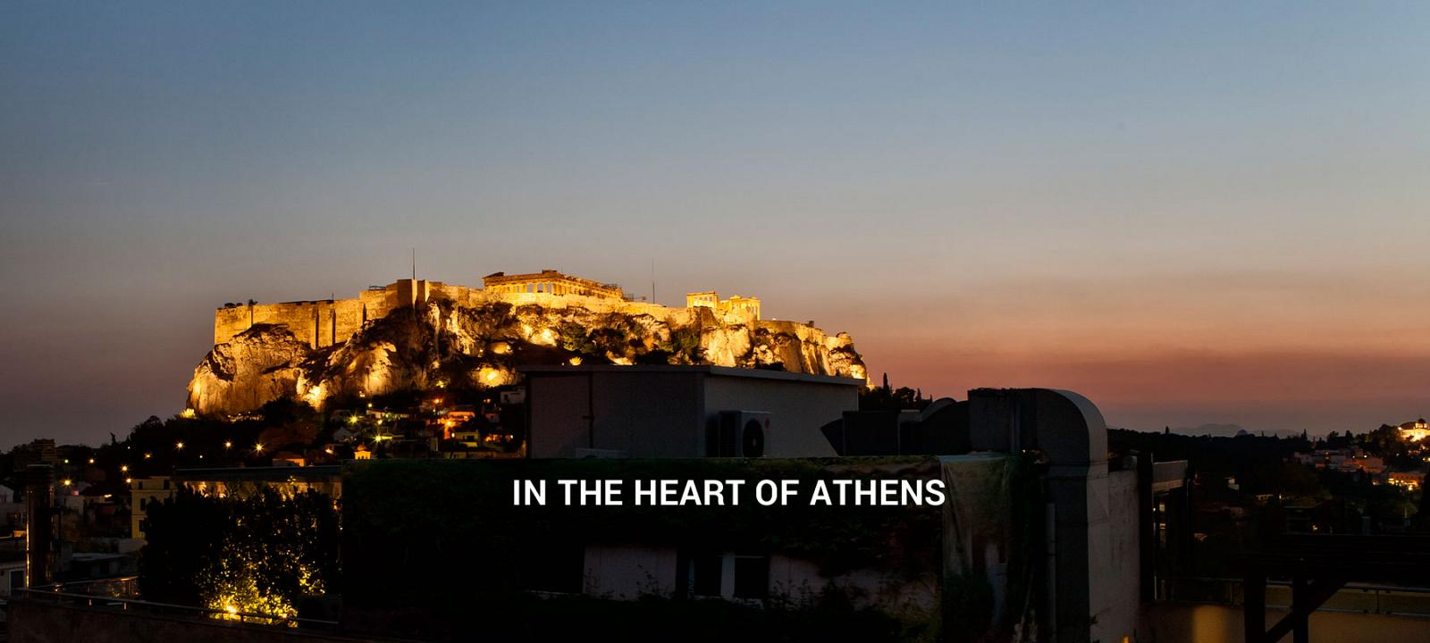 Hotel Hermes In Athens Plaka Acropolis Central Athens