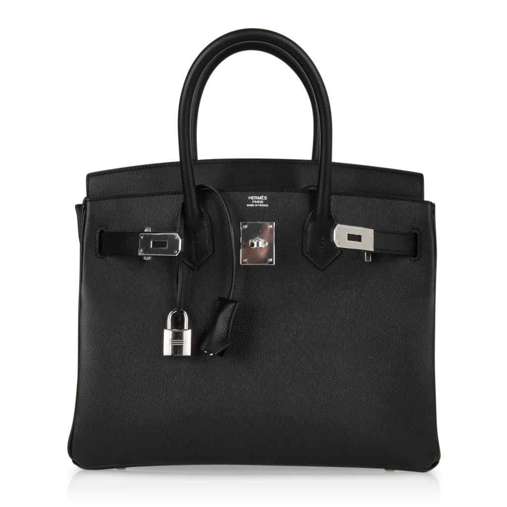 Fake Birkin Bag 30cm Black Epsom Palladium Hardware Garland. TX – hermes replica silk wallet – 1539797341 – Hermes Replica handbags great ...