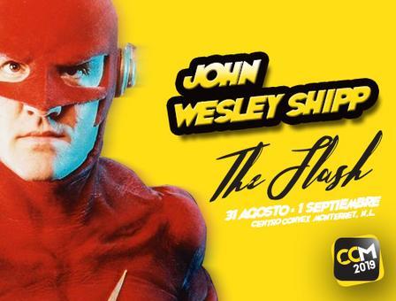 Viene John Wesley Shipp el Flash de los 90s y Sam de la Rosa al Comic Convention Monterrey