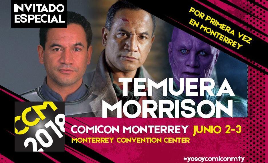 #RetroInterview Recordando cuando Temuera Morrison (Jango Fett) vino a Monterrey en el 2018