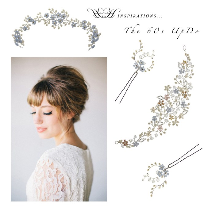 wedding hair inspirations - the fringes! - hair accessories blog