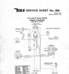 tips on wiring the bsa wdm20 motorcycle [ 1220 x 1715 Pixel ]