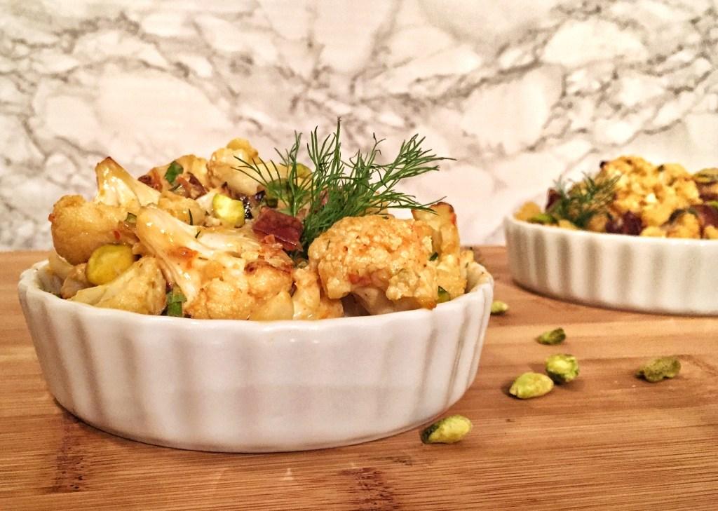 Roasted Mediterranean Cauliflower