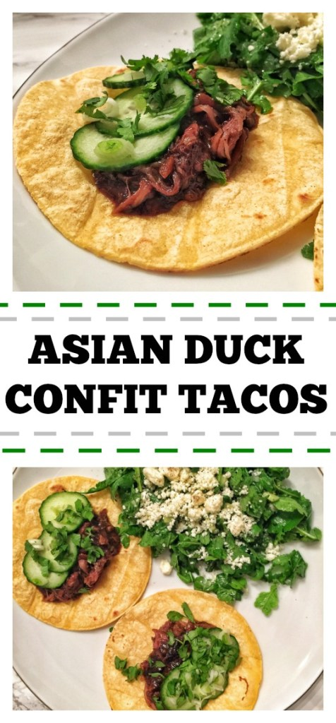 Asian Duck Confit Tacos Pinterest