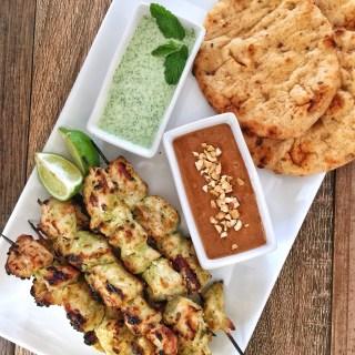 Murgh Malai Tikka - Indian Chicken Kebabs