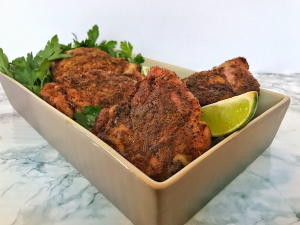 Bake Moroccan Chicken Thighs
