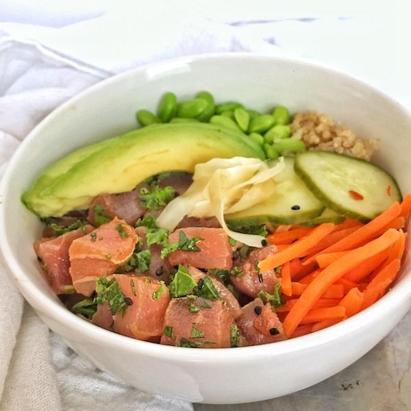 Quinoa Poke Bowls Tuna 2