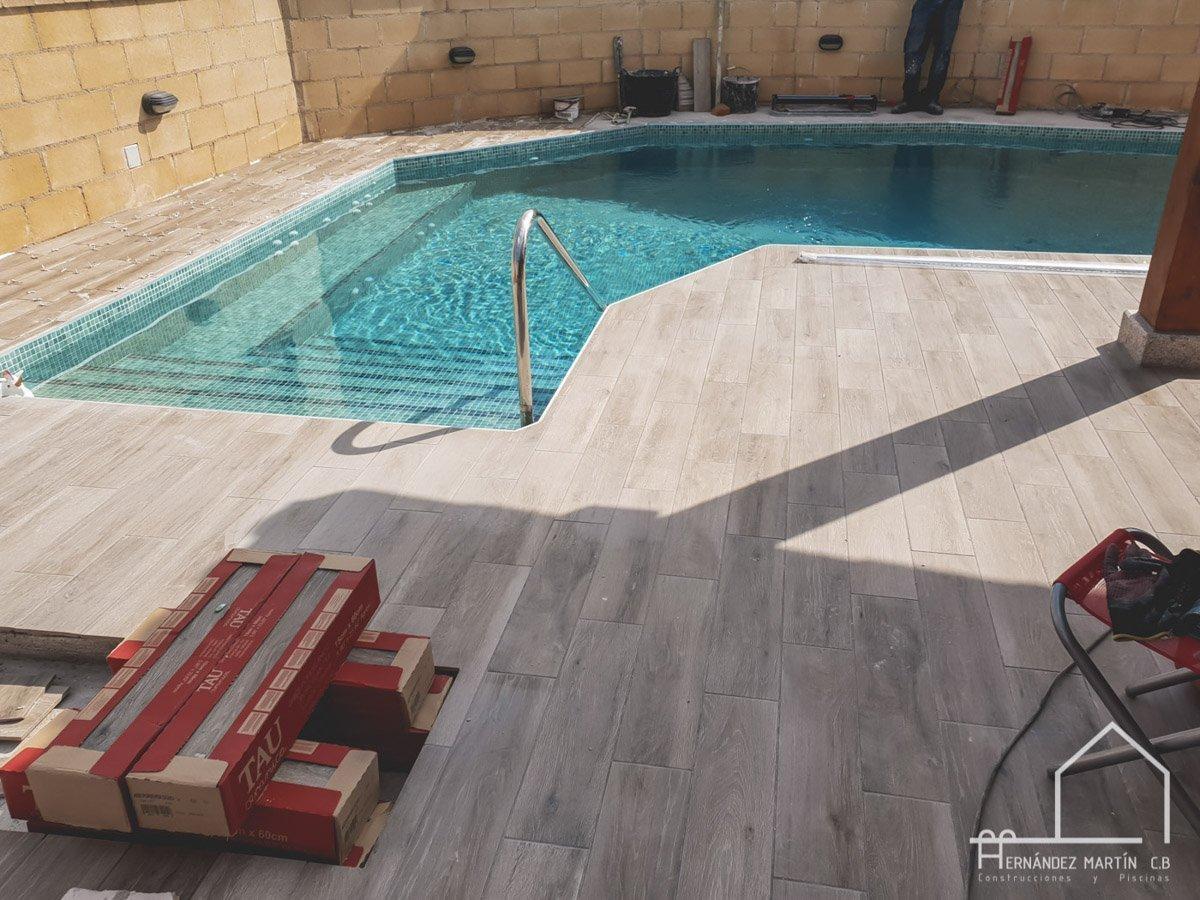 hernandez martin construcciones y piscinas experiencia obra piscina en pequeños rincones zamora salamanca valladolid