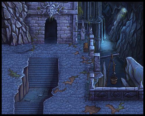 Hero-U Dungeon Tiles