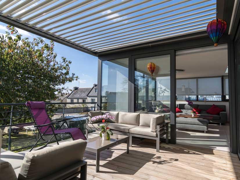 Terrassenüberdachung ➦ Der Natur Ein Stück Näher   Heroal