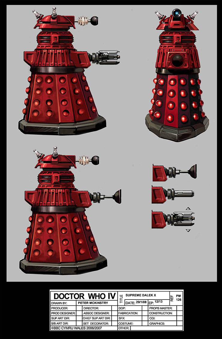 Complete list of Every Doctor Who Dalek 102  Hero Collector