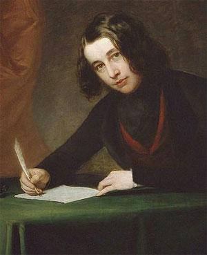 Charles Dickens à 30 ans, en 1842 (Francis Alexander, musée Charles Dickens, Londres)