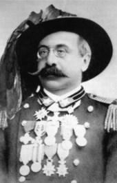 Oreste Baratieri (13 novembre 1841, Condino ; 7 août 1901, Sterzing-Vipiteno)