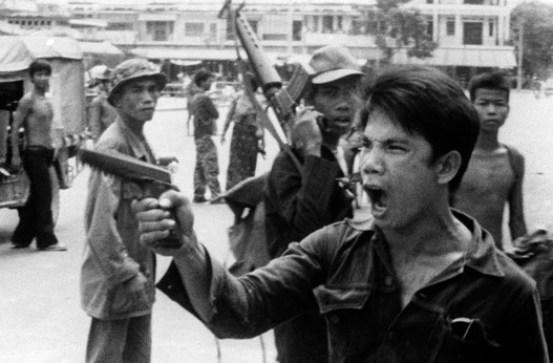 Entrée des Khmers rouges à Phnom Penh le 17 avril 1975