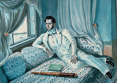 Le jeune diplomate Ferdinand de Lesseps