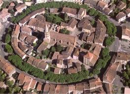 Martres-Tolosane, village circulaire de la vallée de la Garonne, près de la villa de Chiragan (DR)