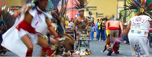 Le jour de l'Hispanité ou Dia de la Raza au Mexique (DR)