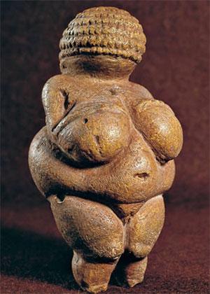 La Vénus de Willendorf (Vienne, Autriche), 22000 à 25000 av. J.-C.)