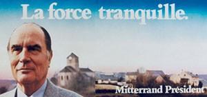 Affiche de campagne de François Mitterrand, 1981