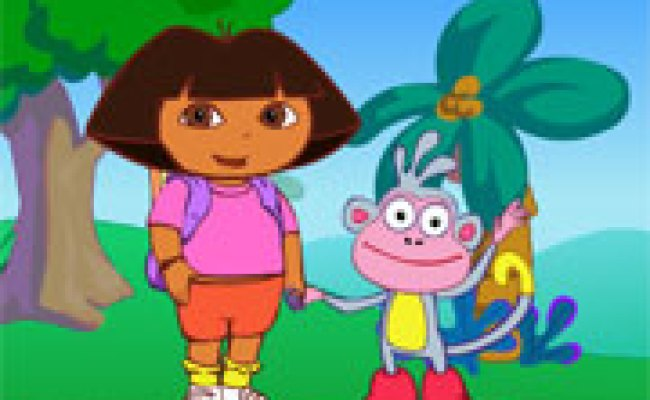 Play Dora Spooky Forest Game Online